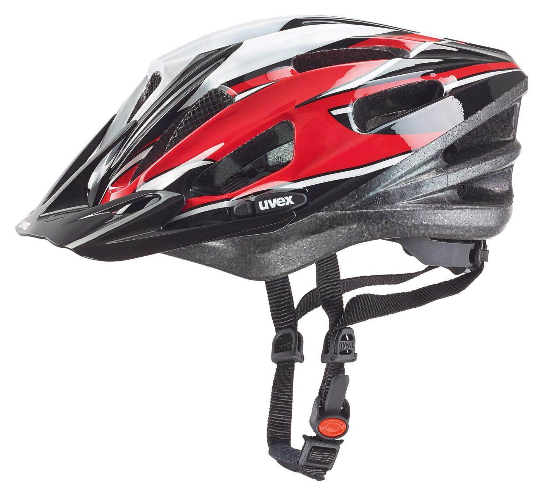 Kiekebusch Angebote Fahrradhelm uvex Boss Compact (Größe: 53-58 cm, 08 red/black/white)
