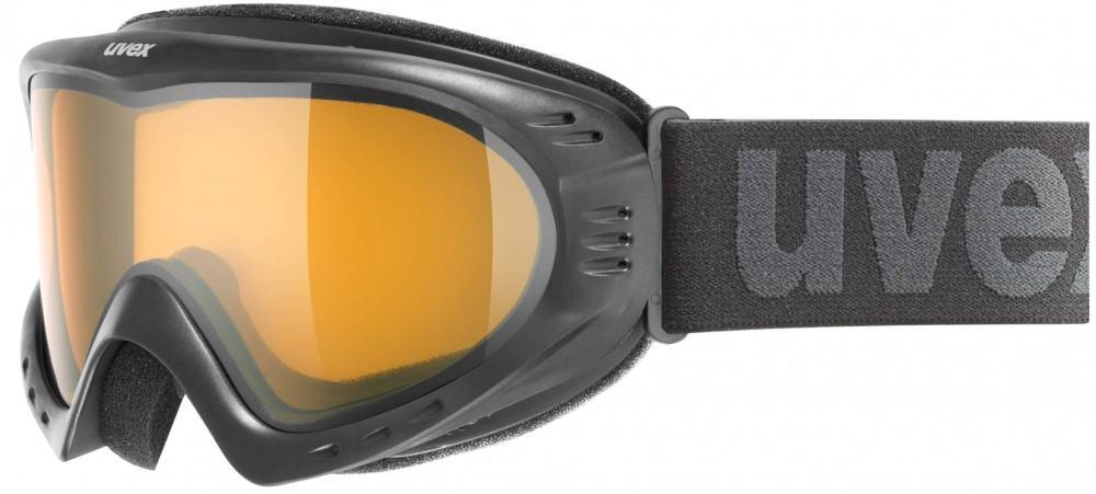 uvex Skibrille Cevron (Farbe: 2029 black, laser...