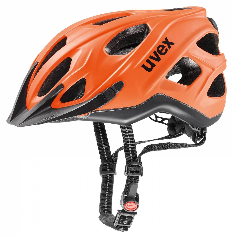 uvex City S Fahrradhelm (Größe: 56-61 cm, 03 neon orange/black mat) Sale Angebote