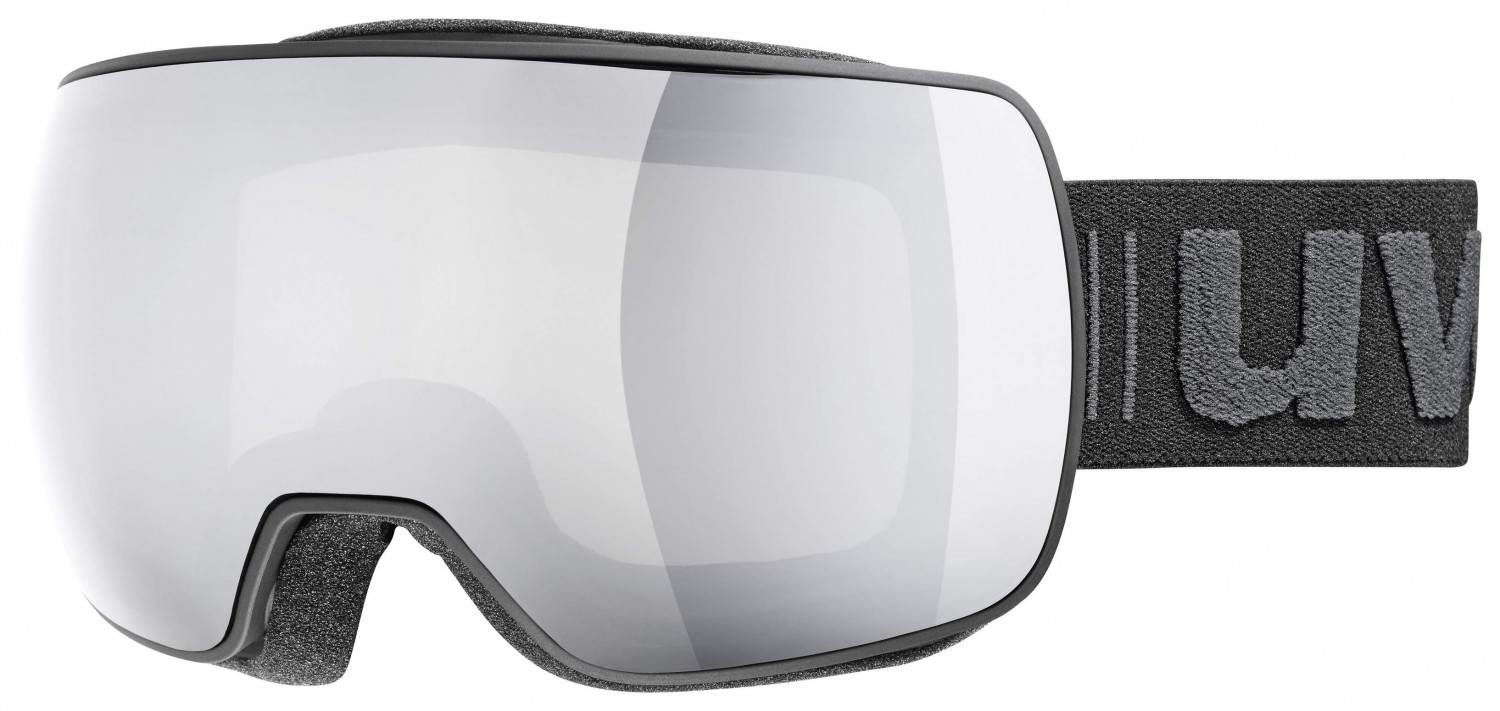 uvex Compact Litemirror Skibrille (Farbe: 2026 black mat, mirror silver/clear) Sale Angebote Haasow
