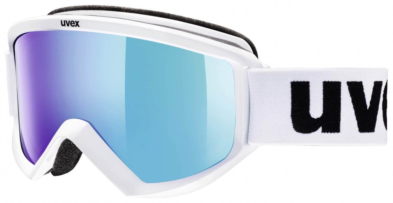 uvex-skibrille-fire-litemirror-farbe-1126-white-mat-litemirror-blue-clear-