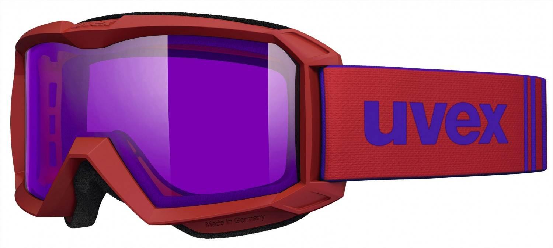 Kathlow Angebote uvex Flizz Stimu Lens Kinderskibrille (Farbe: 3024 red mat, psycho)