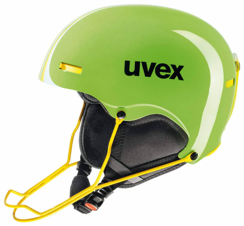 Ruhland Angebote uvex Rennskihelm HLMT 5 Race (Größe: 52-55 cm, 70 lightgreen/yellow)