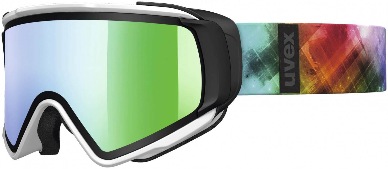 uvex-jakk-take-off-skibrille-farbe-1226-white-mat-double-lens-cylindric-litemirror-green-glow-gr