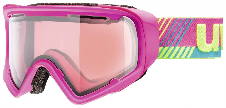 uvex Jakk Stimu Lens Skibrille (Farbe: 9022 pink mat, relax)