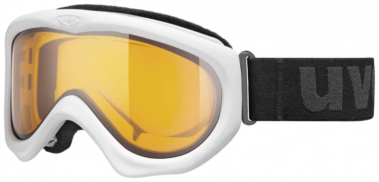 uvex Magic II Skibrille (Farbe: 1029 white, double lens/lasergold lite)