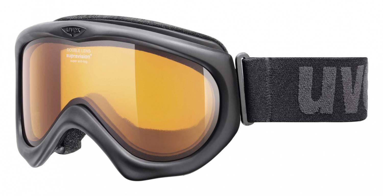uvex Magic II Skibrille (Farbe: 2129 black, lasergold lite/clear) Sale Angebote Hornow-Wadelsdorf