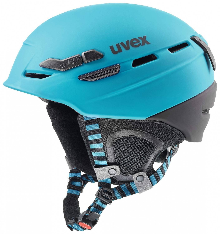 uvex Helm p.8000 Tour (Größe: 55-59 cm, 42 petrol/black mat) Preisvergleich