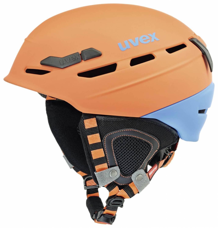 uvex Helm p.8000 Tour (Größe: 55-59 cm, 84 orange/blue mat) Sale Angebote Kathlow