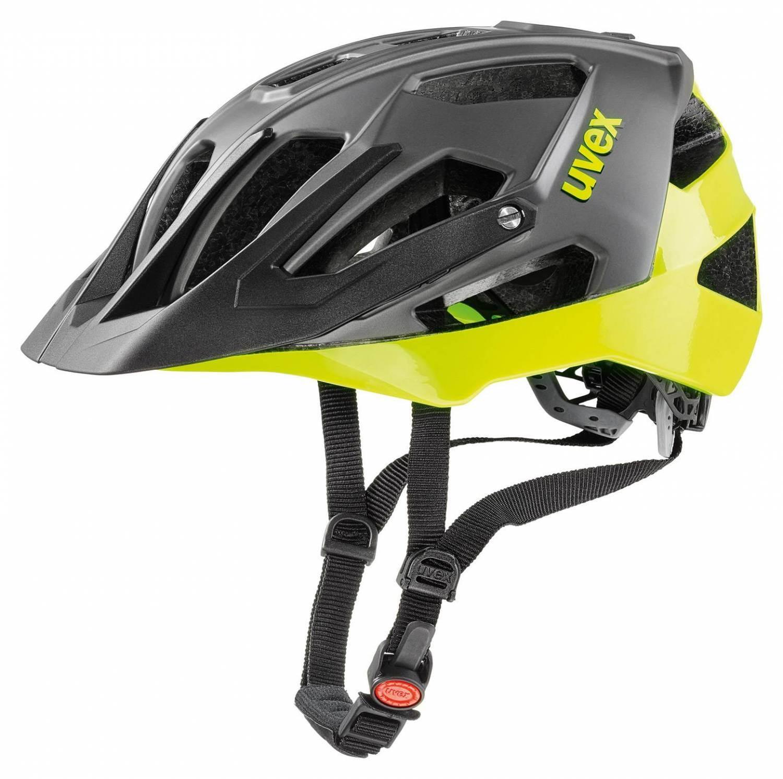 uvex Quatro Fahrradhelm Größe 52 57 cm 11 neon yellow