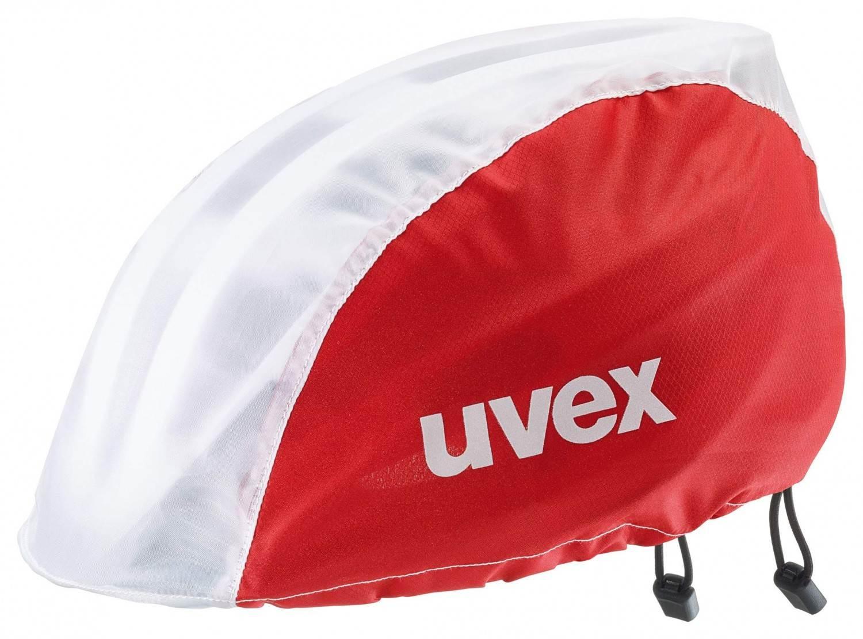 uvex-bike-rain-cap-regenschutz-f-uuml-r-fahrradhelme-farbe-04-red-white-s-bis-m-53-57-