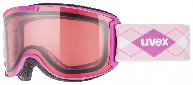 uvex Skyper stimu lens Skibrille (Farbe: 9022 pink, relax)