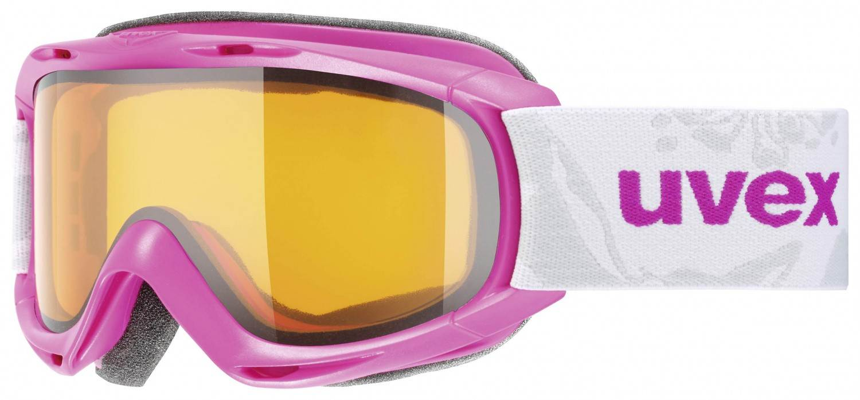 uvex Kinderskibrille Slider (Farbe 7229 pink, lasergold lite clear)