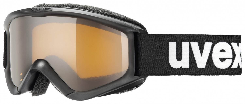 uvex Kinderskibrille Speedy Pro (Farbe 2312 black, lasergold, single lens)