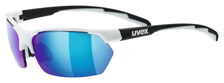 uvex-sportstyle-114-sportbrille-farbe-8216-white-black-mat-mirror-green-litemirror-orange-litemir