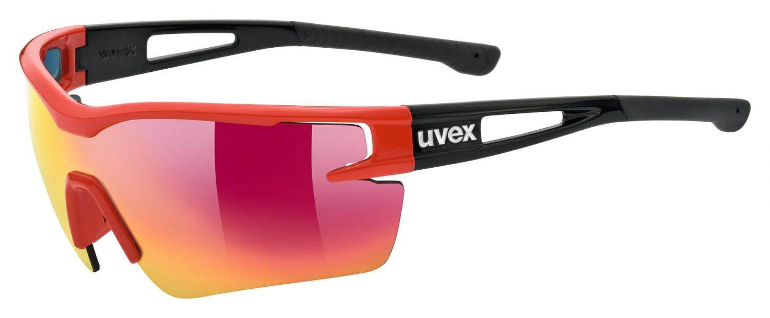 uvex-sportstyle-116-sportbrille-farbe-3216-red-black-mat-mirror-red-litemirror-orange-clear-
