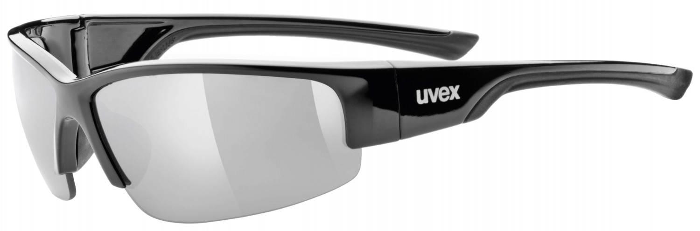 Neiße-Malxetal Angebote uvex Sportstyle 215 Sportbrille (Rahmenfarbe: 2216 black, litemirror silver (S3))