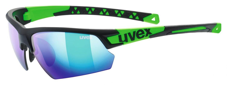 uvex-sportstyle-224-sportbrille-farbe-2716-black-mat-green-mirror-green-s3-, 49.90 EUR @ sportolino-de