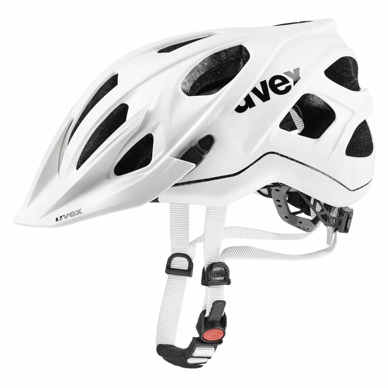 uvex Stivo CC Fahrradhelm (Größe: 52-57 cm, 09 white mat) Sale Angebote Hornow-Wadelsdorf
