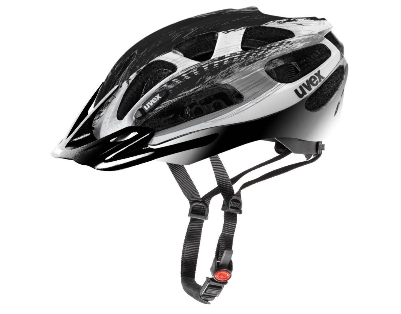 Briesen Angebote Fahrradhelm uvex Supersonic (Größe: 52-57 cm, 14 silver/black)