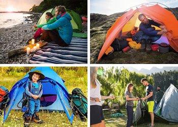 Das Zelt - mobiles Zuhause für Outdoor-Urlaub, Trekkingtour & Expedition