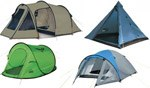 Zelte nach Form